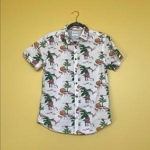 Men's Flamingo Shirt